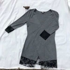 Grey cover up by Venus. Size Small.